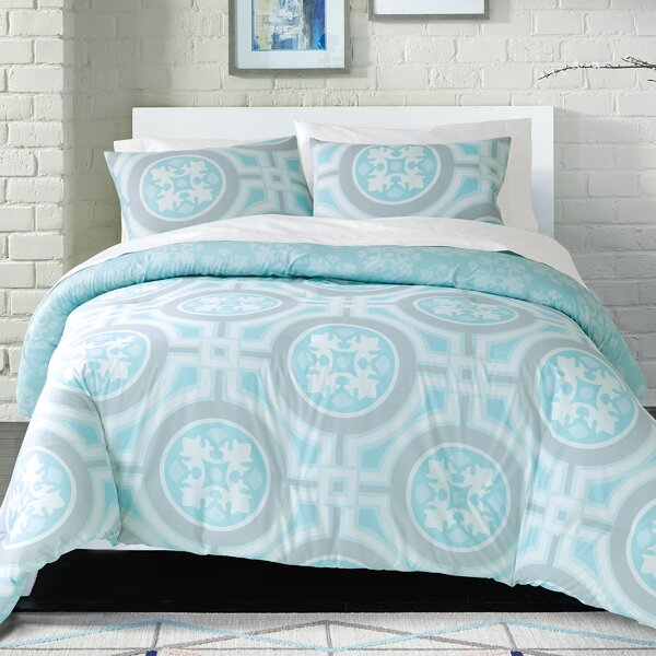 Earleen 100% Cotton 2 Piece Reversible Comforter Set by Ivy Bronx
